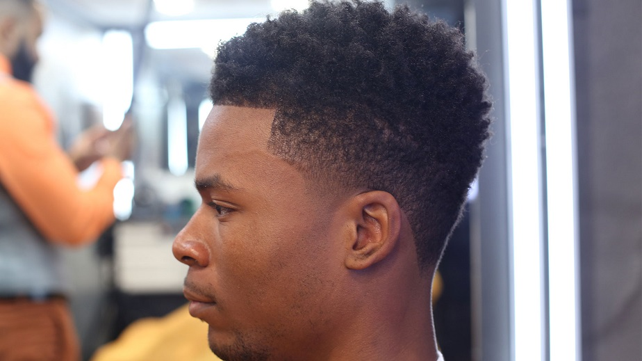 Drop Fade Waves Haircut With Part 74
