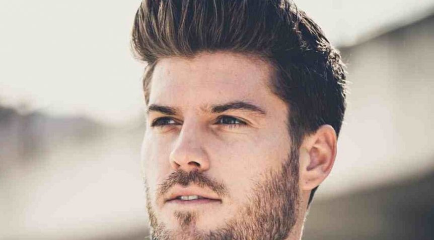 How to style a modern pompadour?