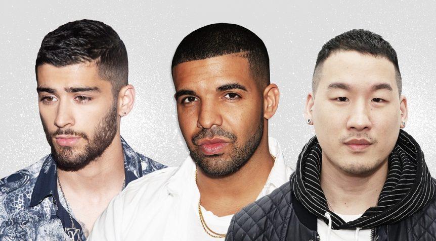 Trendy haircut styles used by men